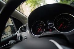 elektronisk navigering för bilkonsolinstrumentbräda Royaltyfri Foto