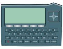 elektronisk ordbok stock illustrationer