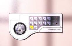 elektronisk safe Arkivfoto
