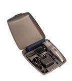 Elektronisk samling - closeup av hairclipper Arkivfoton