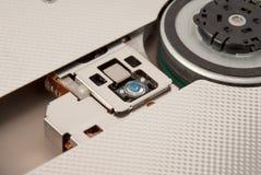 Elektronisk samling - laser-huvud av CD DVD-drev Fotografering för Bildbyråer