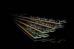 Elektronisk samling - minne för slumpmässigt tillträde för dator & x28; RAM& x29; modu Royaltyfri Bild