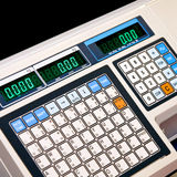 elektronisk scale Arkivfoto