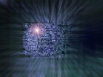 elektronisk sphere royaltyfri illustrationer