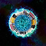 elektronisk sphere Arkivbild