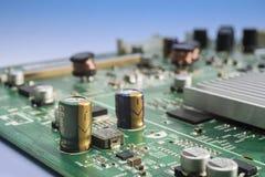 elektronisk strömkrets arkivfoto