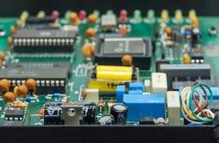 Elektronisk strömkrets board1 Arkivbild