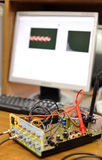 elektronisk strömkretsapparat arkivfoto