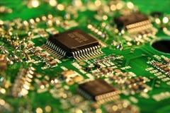 elektronisk strömkrets Royaltyfri Foto