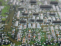 elektronisk strömkrets Royaltyfri Fotografi