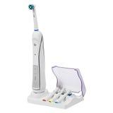 Elektronisk tandborste Fotografering för Bildbyråer