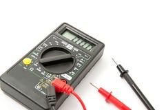 elektronisk voltmeter Fotografering för Bildbyråer