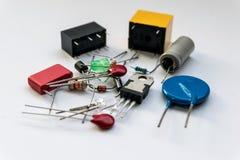 Elektroniska apparater och tillbehör Arkivfoton