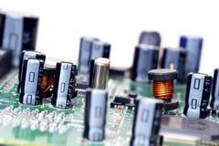 elektroniska delar Arkivbilder
