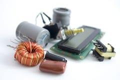 elektroniska delar Arkivfoto