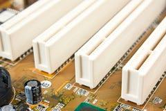 elektroniska delar Fotografering för Bildbyråer