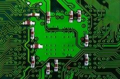 Elektroniska delar för dator Arkivbilder