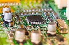 Elektroniska delar för dator Royaltyfri Foto