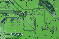 Elektroniska delar/makrofors Royaltyfria Bilder