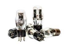 Elektroniska förförstärkarerör för vakuum Arkivfoto