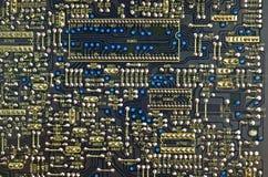 elektroniskt bräde Arkivbild