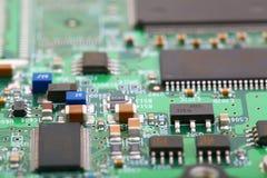 elektroniskt bräde Fotografering för Bildbyråer