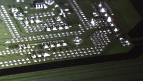 Elektroniskt bräde för brädeabstrakt begreppströmkrets arkivfilmer