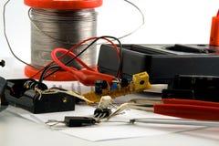 elektroniskt home projekt Royaltyfria Bilder