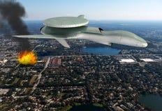 Elektroniskt krig för militärt surrslag Royaltyfri Foto