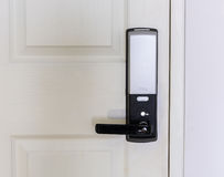 elektroniskt lås för dörr Royaltyfri Fotografi