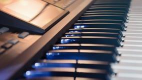 Elektroniskt musikinstrument Fotografering för Bildbyråer
