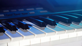 Elektroniskt musikinstrument arkivbild