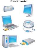 elektroniskt objekt vektor illustrationer