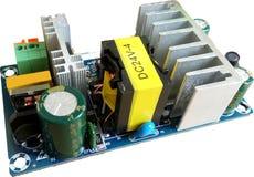 Elektroniskt strömförsörjningbräde arkivbild