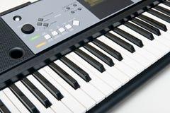 elektroniskt tangentbordpiano Arkivfoto