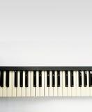 elektroniskt tangentbordpiano Fotografering för Bildbyråer