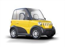 Elektrostadsauto Stock Foto's