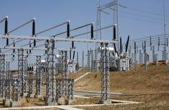 Elektrosysteem Stock Foto's