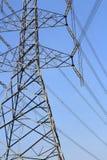 Elektrotorenlijn Stock Foto's