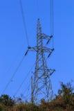Elektrotransmissietoren Royalty-vrije Stock Foto's