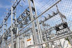 Elektrowni Bramy Zdjęcie Royalty Free