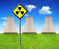elektrowni jądrowej moc Zdjęcia Royalty Free