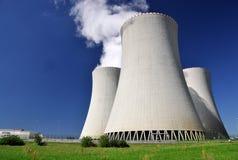 elektrowni jądrowej moc Zdjęcie Royalty Free