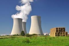 elektrowni jądrowej moc Obraz Stock