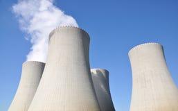 elektrowni jądrowej moc Fotografia Royalty Free