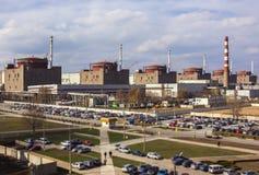 elektrowni jądrowej moc ekologia Obrazy Royalty Free
