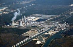 elektrowni nuklearnej władza Zdjęcie Royalty Free