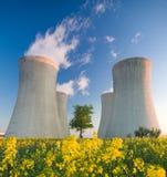 elektrowni nuklearnej władza Zdjęcie Stock