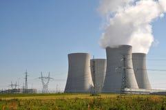 elektrowni nuklearnej władzy temelin Obraz Royalty Free
