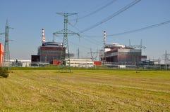 elektrowni nuklearnej władzy temelin Zdjęcie Stock